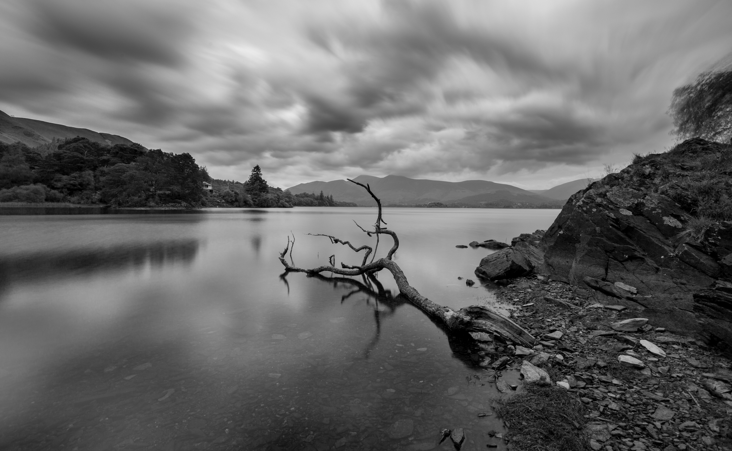 Derwent water in may-3