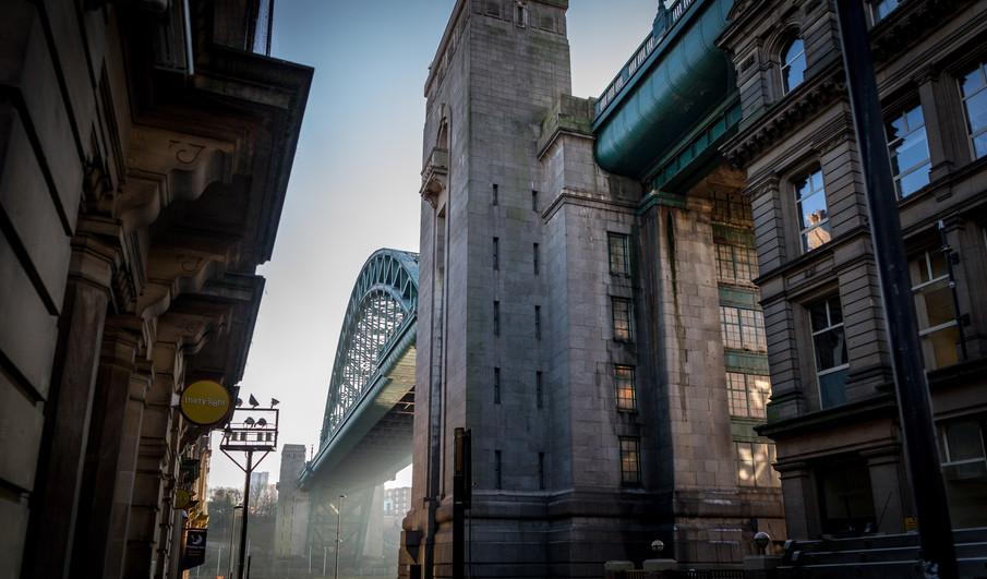 Street view Newcastle tyne bridge