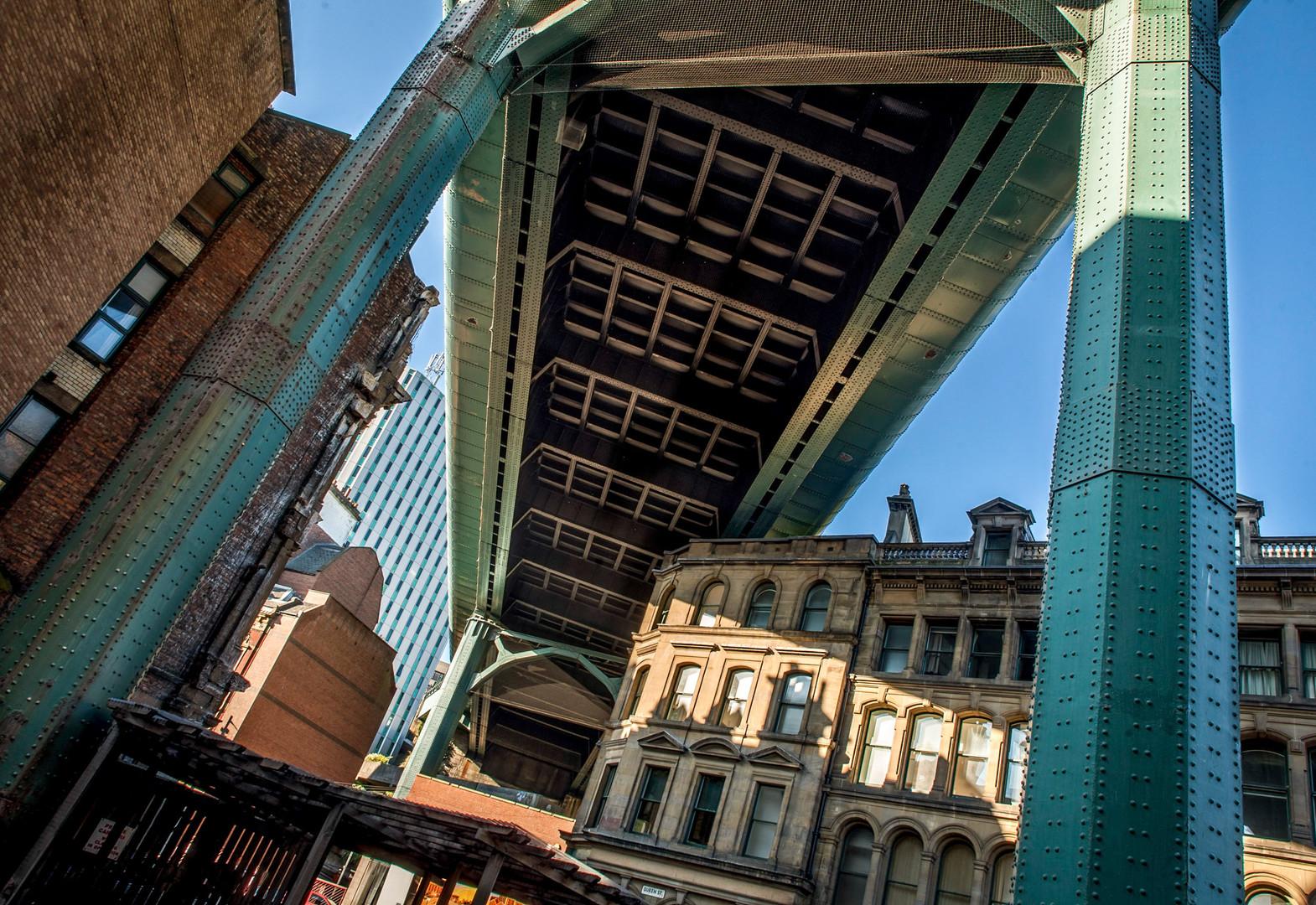 Under the bridge Newcastle