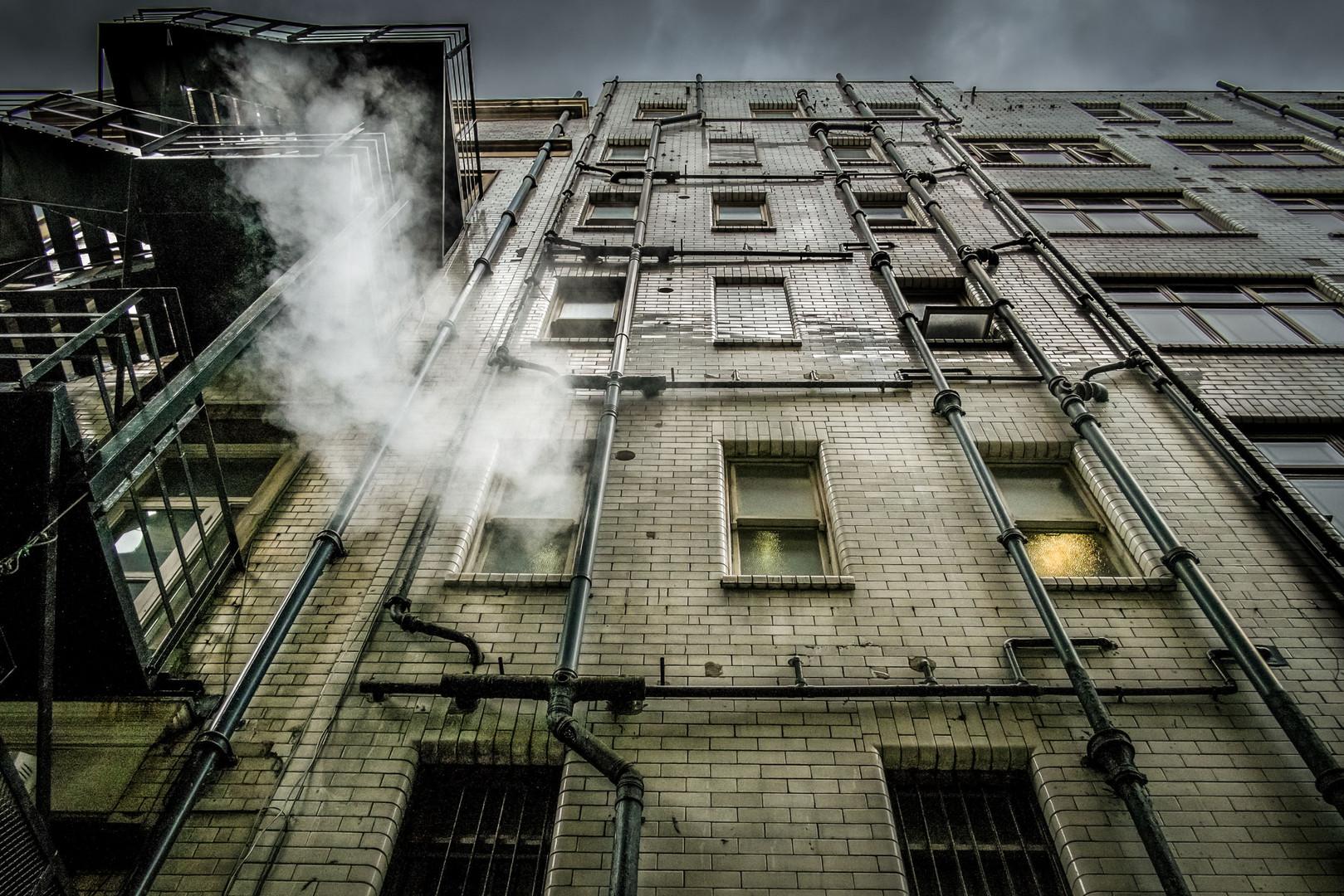 Newcastle fire escape