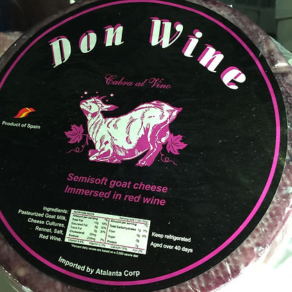 Don Wine goat cheese