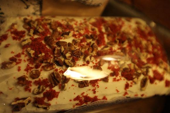 Red velvet loaf cake