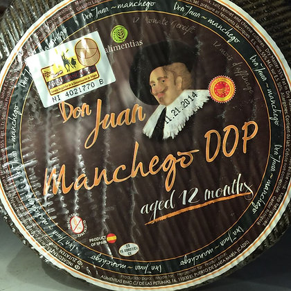 Manchego DOP cheese