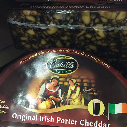 Cahill Original Irish Porter Cheddar Cheese