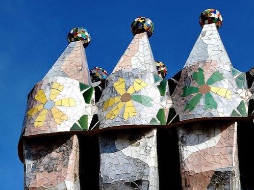 Gaudi Tour. Sagrada Familia. Casa Batlló and Casa Miola