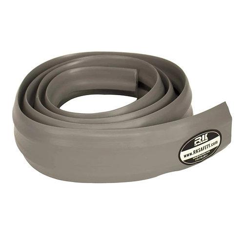 6.5 Feet Heavy Duty PVC Floor 3 Cord Protector -Grey