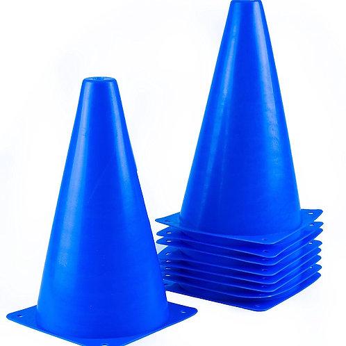 Sports Plastic Sport Cones - Blue