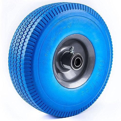"10"" x 3.5"" Solid Rubber Flat Free Tubleless Wheel"