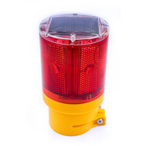 Solar Powered Emergency LED Strobe Lamp Lights