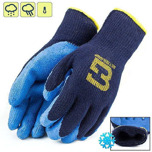 Better Grip Insulated Rubber Coated Crinkles Gloves
