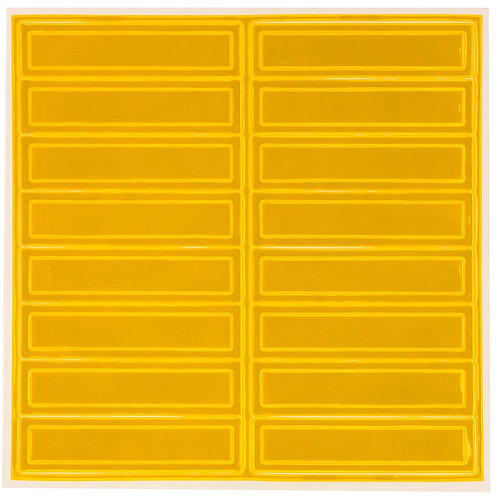Adhesive Reflective Hard Hat/Helmet Stickers (Yellow)