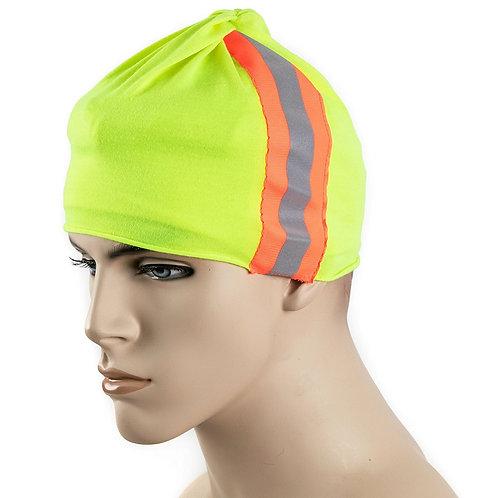 Hi-Viz Multi-Use Headwear Bandanna, Headwrap Scarf Wrap, Headband & Muffler