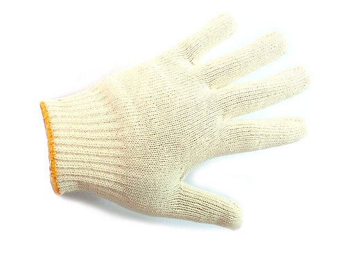 String Knit Red Palm Latex Dipped Gloves