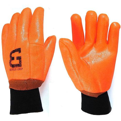 Better Grip Sandy Finished Hi-Viz PVC Coated Gloves