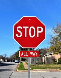 Regulatory Signs, Stop Signs