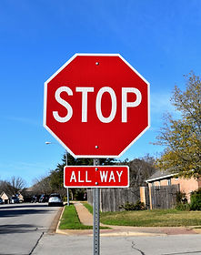 Regulatory Signs, Stop Signs
