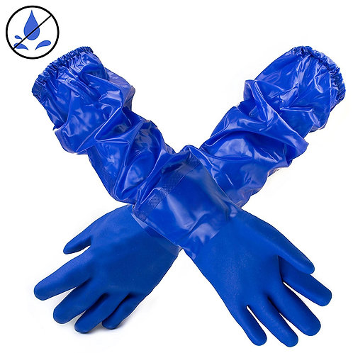 "Better Grip Premium Double Coated 23"" PVC Chemical Resistant Gloves"