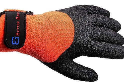 Better Grip Safety Winter Insulated Crinkle Finished Hi-Viz Orange