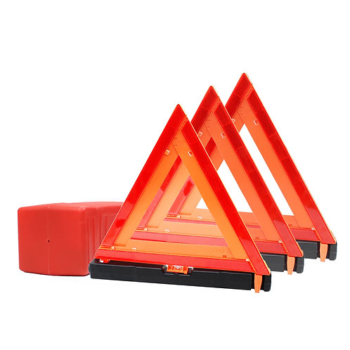 Warning Triangle DOT Approved Road Side Emergency Kit
