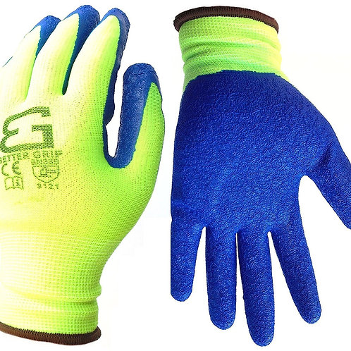 Better Grip Nylon Gloves Textured Latex Coating Grip