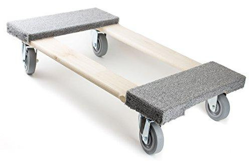 Furniture Movers Dolly Soft Gray Non-marking TPR Wheel