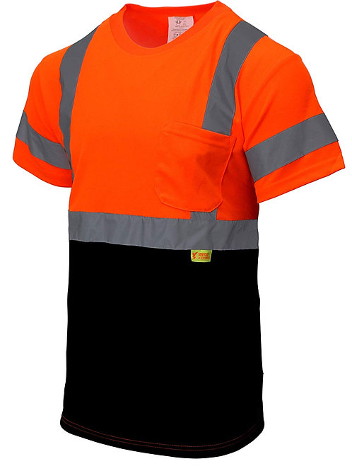 Hi-Viz Class 3 T Shirt with Moisture Wicking Mesh