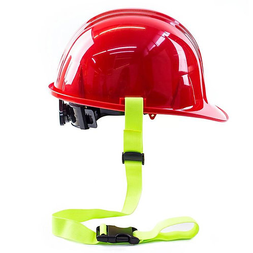 Safety Clamp Hard Cat Lanyard (Clamp, Lime)