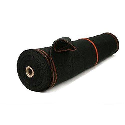 Heavy Duty Black Scaffold Debris Netting, Fire Retardant 8.6' x 150'