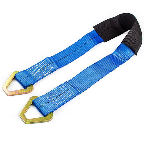 "2"" x 36"" Axle Delta Ring Strap, Tie Down, Accessory for Ratchet Strap"