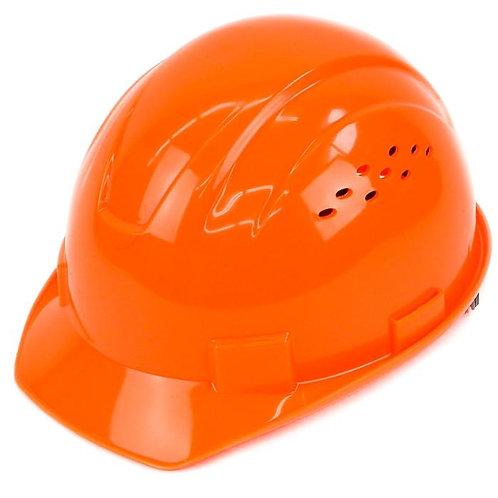 Cap Style Hard Hat with 4 Point Ratchet Suspension (Hi-Viz Orange)
