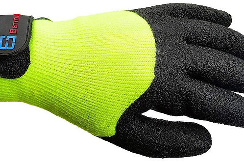 Better Grip Safety Winter Insulated Crinkle Finished Hi-Viz Yellow