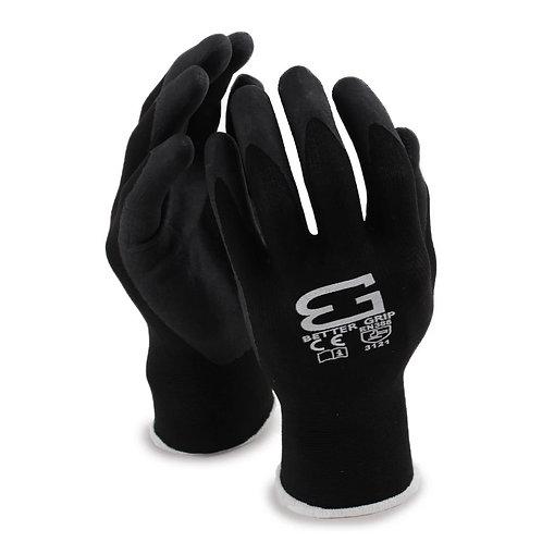 Better Grip Flex Micro Foam Nitrile Coated Nylon Work Gloves for Smart Phone