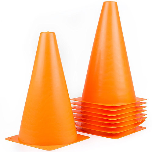 Sports Plastic Sport Cones - Orange
