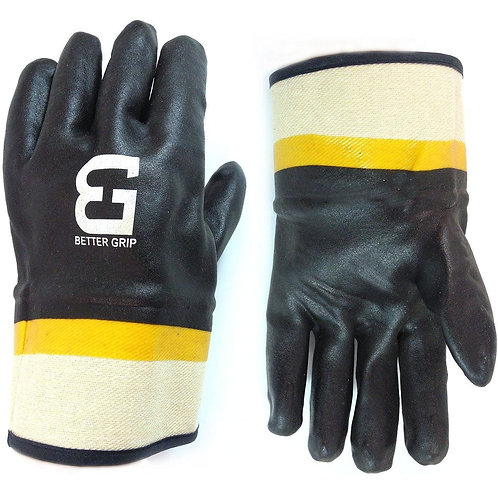 Better Grip Sandy Finished PVC Coated Support Gloves