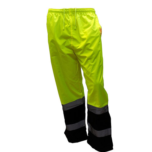 Insulated Thermal Lined Waterproof Rain Pants Over Trousers