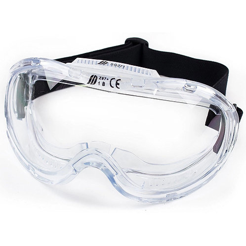 Industrial Protective Indirect Vent Wide Vision Goggles