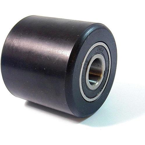 "Pallet Jack Replacment Load Support Nylon Wheel 3"" Diameter x 3-5/8"" w 20mm ID"
