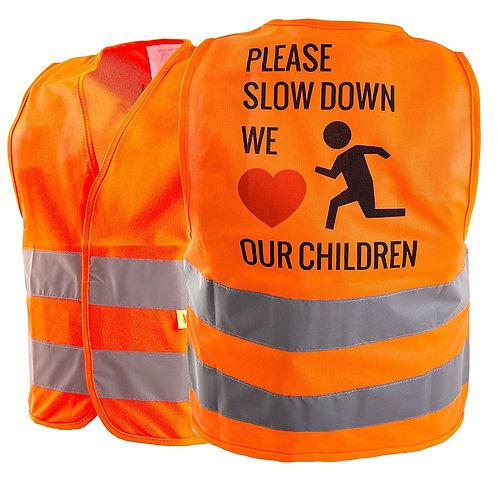 Hi-Viz Kids Safety Vest, Waistcoat