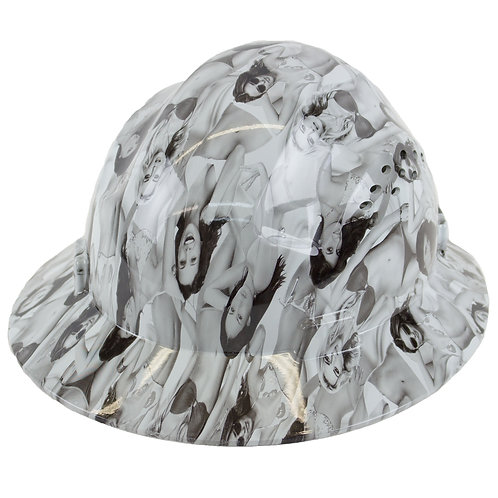Brim Style Hard Hat with 4 Point Patchet Suspension (Ladies Design)