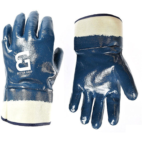 Better Grip Nitrile Coated Gloves Chemical Resistant