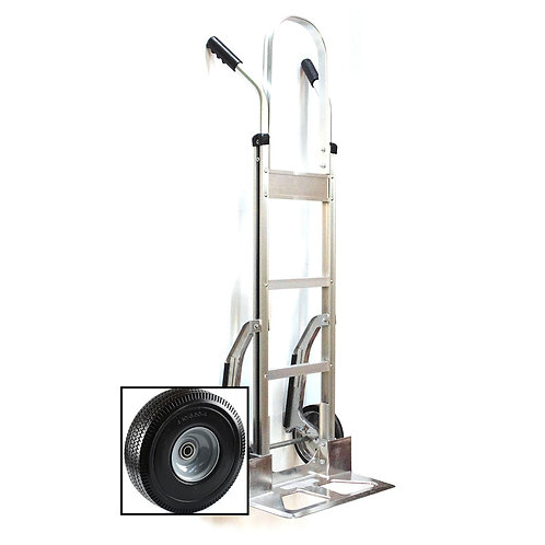 Heavy Duty Aluminum Hand Truck, Stair Climber, Fully Assembled without Wheels