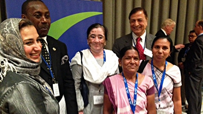 With SEWA at SE4All Forum