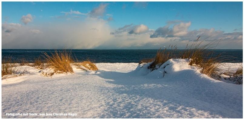 Schneeweißer Sand