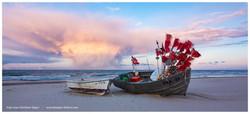 Fischerstrand Baabe, Ostermontag 2020