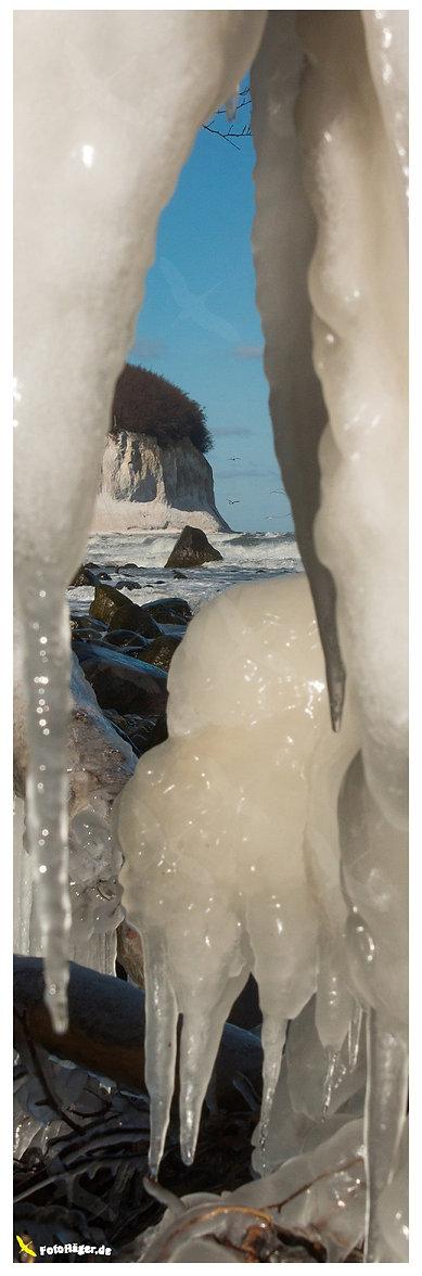 Kreideküste-sassnitz-eis-winter von Jens Christian Häger hochformat-banner online