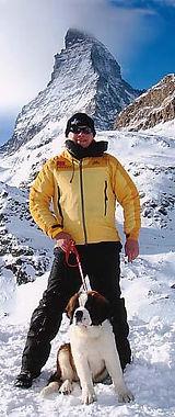 Jens Christian Häger Zermatt Matterhorn Bernhardiener