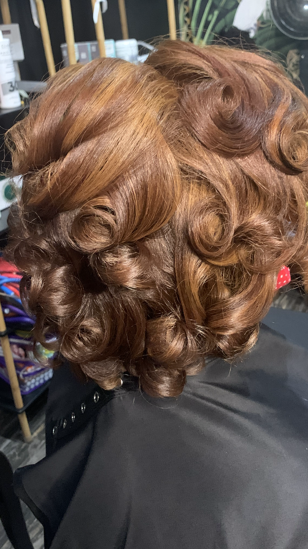 Silk Press with Trim and Highlights