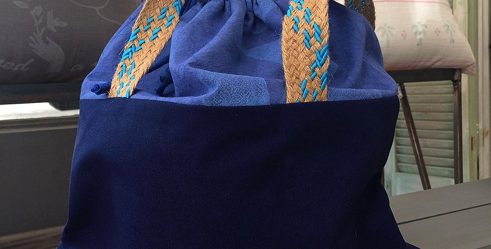Drawstring Hand Bag