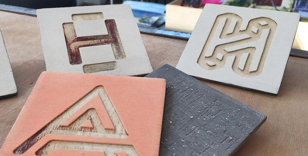 Athinai Tile Piece / Coasters