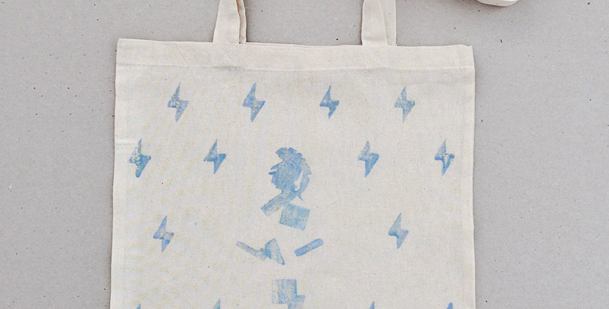 Thunder Athens Tote Bag